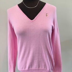 Ralph Lauren sweater bundle with necklace